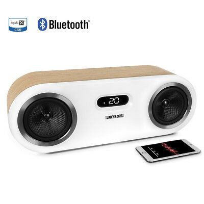 Fluance Fi50 Two-Way High Performance Wireless Bluetooth Wood Speaker System