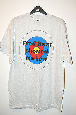 "FRED BEAR ARCHERY T-Shirt M ""Fred Bear Showed Me How"" Neu B-Ware / Sonderpreis!"