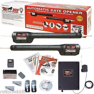Mighty Mule Heavy-Duty Dual Electric 18-Foot Gate Opener For Dual Swing Gates