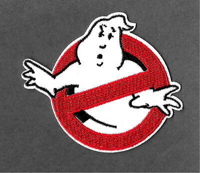 B Embroidered Iron On Applique Patch Ghostbusters Movie Ghost