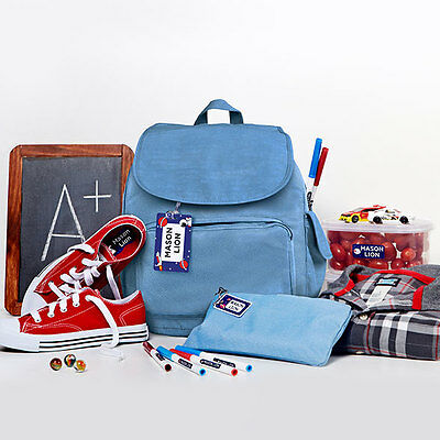 Personalized School Package including Name Labels and Bag Tags for Kids