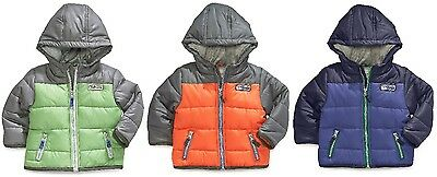 Carter's Hooded Puffer Coat With Attached Hood ~ Pick Your Size & Color ~ NWT