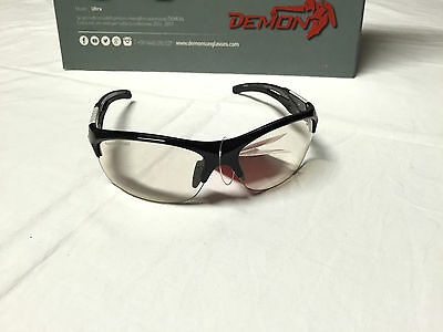 Demon Sportbrille, Modell: Tour ,Col. black/white , Photochromic Gläser, Neu !!