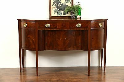 Henredon Natchez Collection Vintage Mahogany Sideboard, Buffet or Server