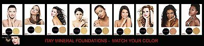 Pick Your Color Try & Match  ITAY Mineral Powder Foundation Sample Size  2.5 gr