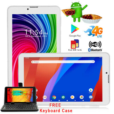 "A76 GSM Factory Unlocked 7"" Android Tablet+Phone WiFi 3G - w/ SmartCover Bundle"