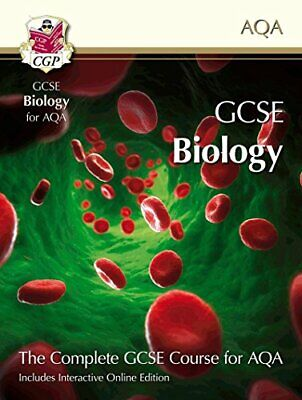 GCSE Biology for AQA: Student Book with Interactive Onli by CGP Books 1847622208