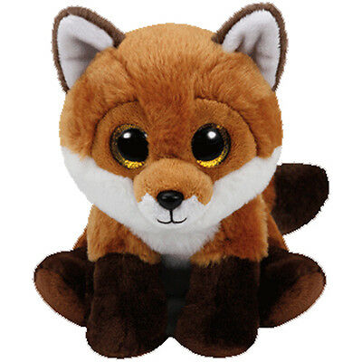 TY Classic Plush - FAY the Fox (9.5 inch) - MWMTs Stuffed Animal Toy
