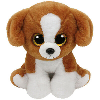 TY Classic Plush - SNICKY the Dog (9.5 inch) - MWMTs Stuffed Animal Toy