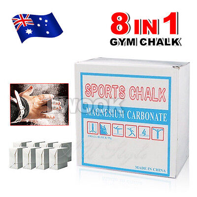 Gym Chalk Sports Athletics Weight Lifting Gymnastic Climbing Magnesium Carbonate