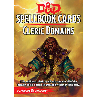 D&D Cleric Domains Spellbook Cards
