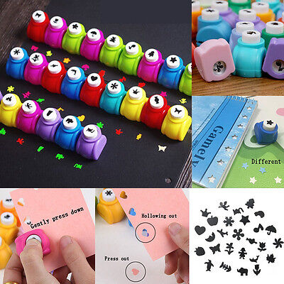 Promotion Cute Scrapbook Punches Cutter Printing DIY Paper Hole Puncher Shape
