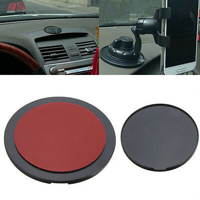 Car Dashboard Suction Mount Disc Disk Double-side 3M Sticky Pad For Phone Holder