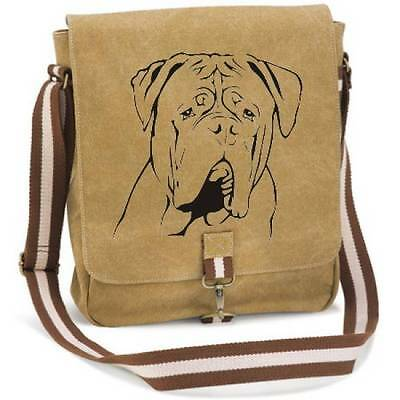 Canvas Messenger Hunderasse: Bordeaux Dogge 2