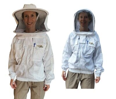 "Beekeeping Jacket ""oz Armour"" Heavy Duty Poly Cotton"
