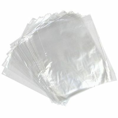 Clear Polythene Poly Plastic Bags for food crafts
