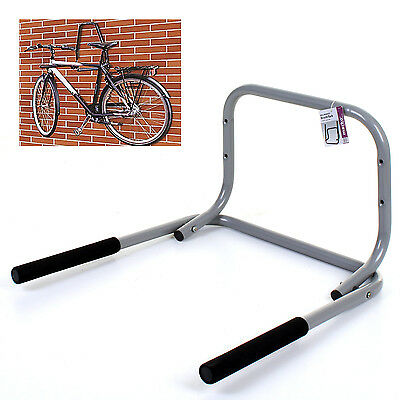 Bicycle Wall Mounted Bike Folding Rack Strong Storage Hook Holds 3 Bikes Garage