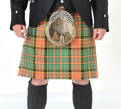 Dalrymple 8 Yard Wool Made in Scotland Kilt Usually £299 All Sizes New Now £199
