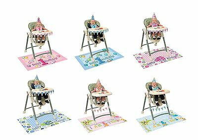 First/1st Birthday HighChair Decorating Kit - Boy/Girl/Accessories/Banner/Party