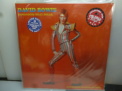 David Bowie-Demanding Billy Idols, And Other Friends.-2Lp Red Vinyl-New.sealed