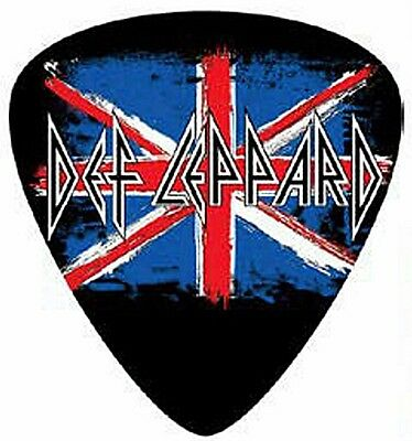 Def Leppard logo large plectrum shaped wall sign  360mm x 320mm (st)