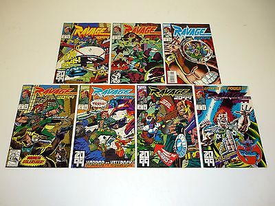 RAVAGE 2099 #2 3 4 5 6 7 8 Marvel Comic Books Lot Run of 7 Issues VF-NM 1993