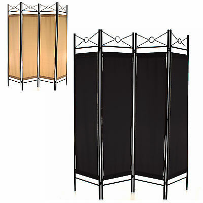Folding Room Divider 4 Panel Screen Privacy Wall Movable Partition Separator NEW