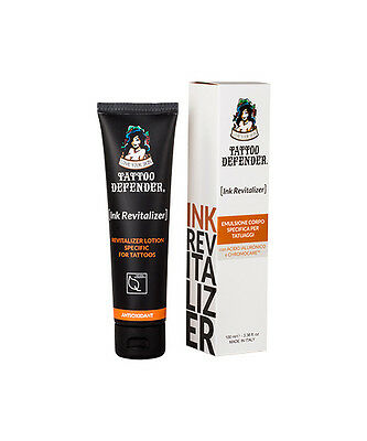 Tattoo Defender Emulsione Corpo Specifica Per Tatuaggi 100 Ml Ink Revitalizer
