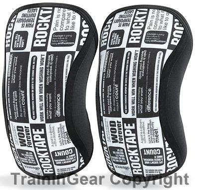 RockTape Assassins Manifesto Sleeves Knee Caps Support Protection 7mm Kneecaps