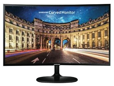 """NEW Samsung LC24F390FHEXXY 23.5"""" Curved Monitor"""
