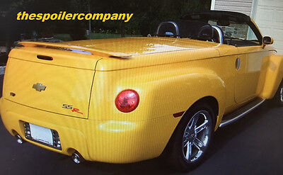 FOR CHEVROLET SSR Un-Painted Grey Primer ABS Spoiler Wing 2003-2004-2005-2006
