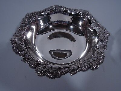 Tiffany Clover Bowl - 16152 - Antique Aesthetic - American Sterling Silver