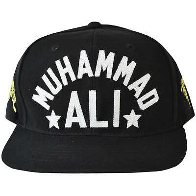 Roots of Fight Muhammad Ali Butterfly Bee Snapback Hat - Black