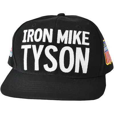 Roots of Fight Iron Mike Tyson 1988 Badges Snapback Hat - Black
