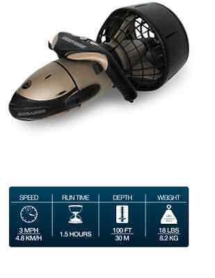 SeaDoo VS Supercharged Plus SeaScooter Scooter Electric Bronze 3+MPH NEW SD6545P