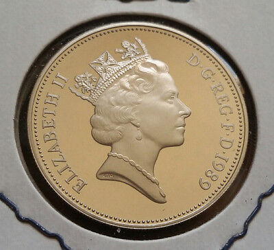 1989 Great Britain 10 Pence - Proof