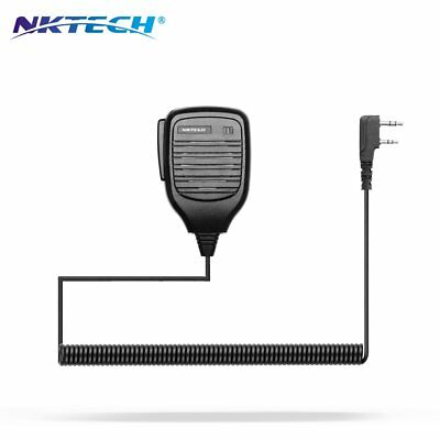 2X NKTECH NK-S112 Speaker For BaoFeng UV-5R PLUS V2+ GT-3 GT-5TP UV-5RTP BF-F8HP