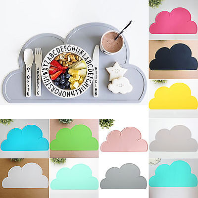 Cloud Shape Insulation Kitchen Placemat Baby Kid Food Pad Dining Table Place Mat