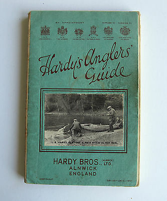 Hardy`s Anglers Guide - 58th Edition 1951 ( + 1953 Price List & Rod Ticket )