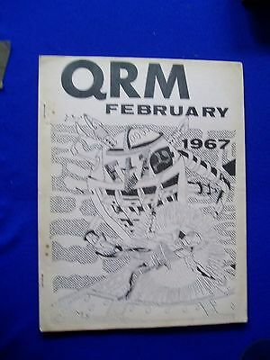 QRM February 1967, USA science fiction fanzine.