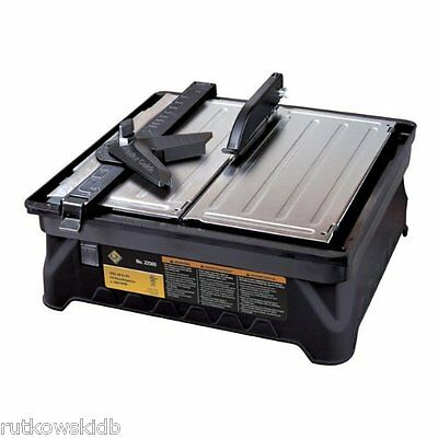 7-INCH Portable Wet Tile Saw 120V 3/4-HP