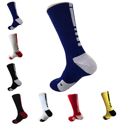 Stylish Thicken Towel Men's Socks Sport Professional Basketball Elite Sock