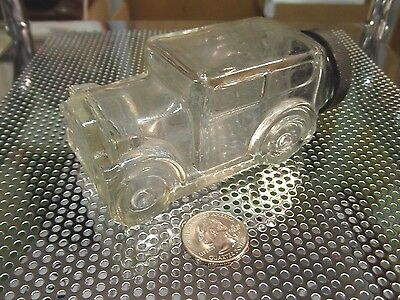 Vintage Glass Candy Car, Container Bottle