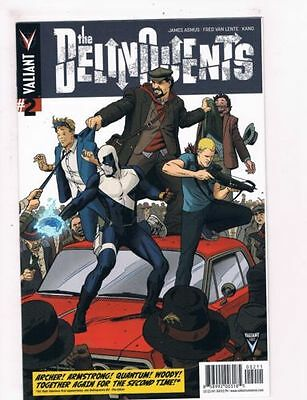 The Delinquents #2 (Valiant)
