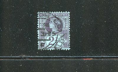 Lot 51904 Used 114 Thin  Queen Victoria Jubilee Issue  Great Britain Gb