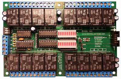 Controlanything.com R1610PROXR 16 channel RS232 relay board