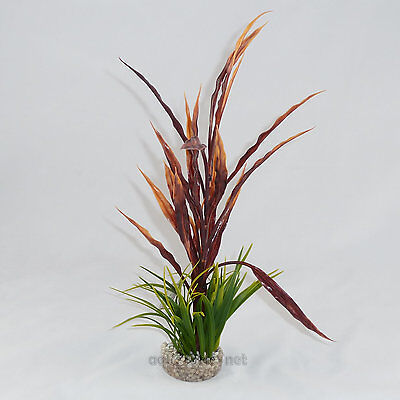 Sydeco Atoll grass, 40 cm hoch, Typ rot