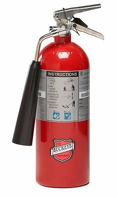 Buckeye, Fire Extinguisher, 5 LB BC Fire Extinguisher, CO2, Carbon Dioxide, NEW