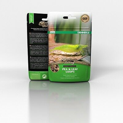 Dennerle Shrimp King Pea & Leaf Loops - Futtersnack - 30 g