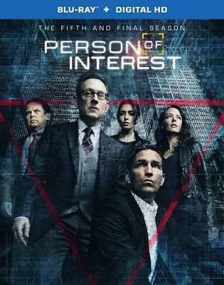 Person Of Interest: The Complete Fifth And Final Season New Blu-Ray